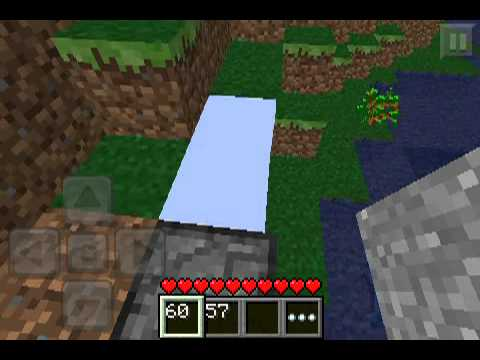 Minecraft PE UKSSPY's Test Lab (3) - Glowstone? And invisible bedrock!!!!