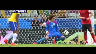 Mexico vs Brasil 0-0 Mundial Brasil 2014 Resumen