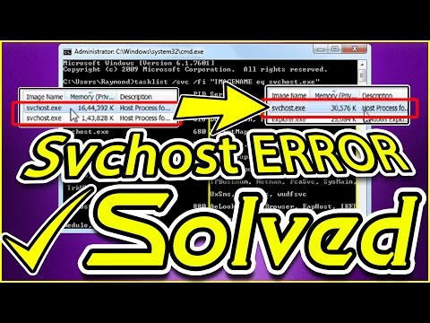 ✔ How To Solve Svchost.exe (netsvcs) High Memory | High CPU and RAM usage problems