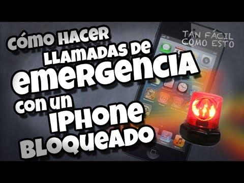 Cómo hacer una llamada de emergencia con tu iPhone