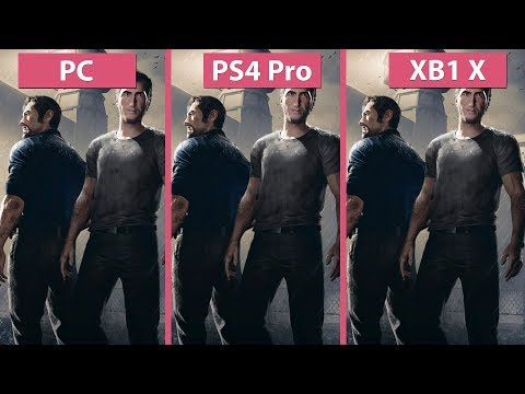 [4K] A Way Out – PC Max vs. PS4 Pro v.s Xbox One X Graphics Comparison