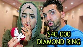 DUBAI BILLIONAIRE BOUGHT HER A $40,000 DIAMOND RING