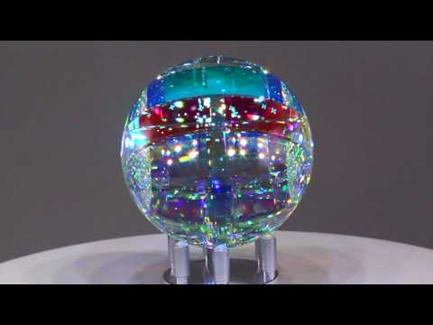 Chroma Spherix - Glass Sculpture by Jack Storms