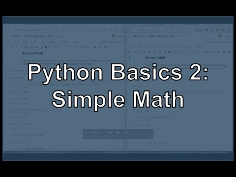 Python Math Operators