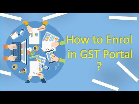GST Registration Enrolment in India - Part 2 (Data Entry)