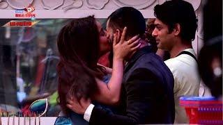 Biggboss13: Shehnaz ने की Gautam पर की Kiss की बारिश , Siddharth खड़े-खड़े हुए घायल