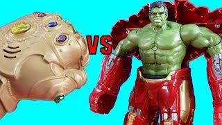 Download Ultimate Hulk Smash Vs. Infinity War Ultimate Infinity Gauntlet Part 2 + Imaginext Toys & Hulkbuster Video