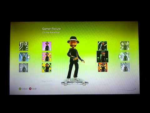 How to change your xbox 360 character background