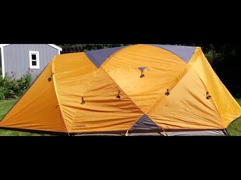 How To Set Up Cabelas 6 Person Gaurdian Tent.