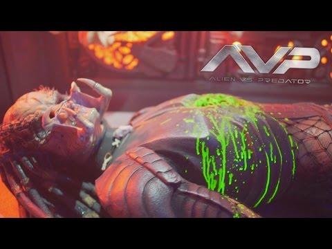 AVP: Alien vs. Predator maze highlights at Halloween Horror Nights