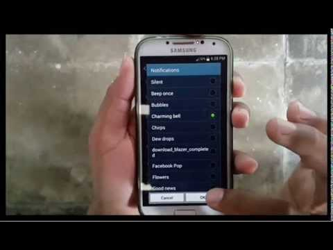 Samsung Galaxy S4 : How to Change Notification Sound (Android Kitkat)