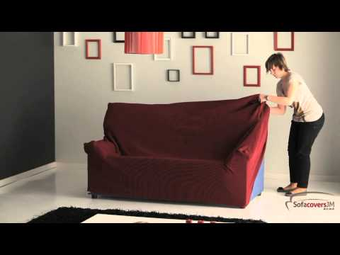 How to install a elastic sofa cover
