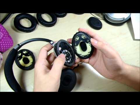 How to change Bose® On Ear / OE Headphone earpads