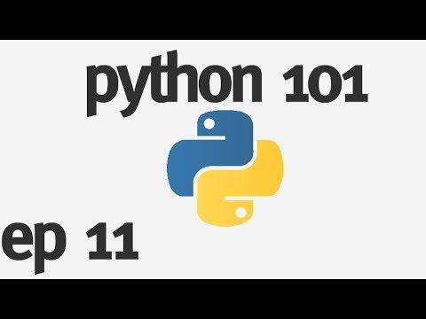 Python 101 - Making a Button