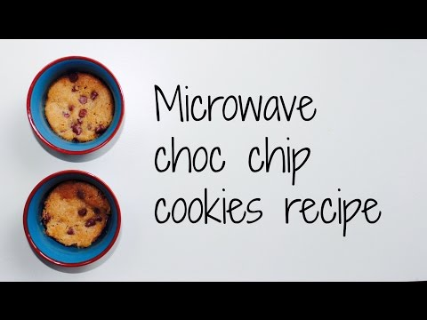 How to make Microwave choc chip cookies recipe