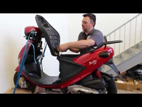 How to Install a Low Profile Seat for Buddy Scooter
