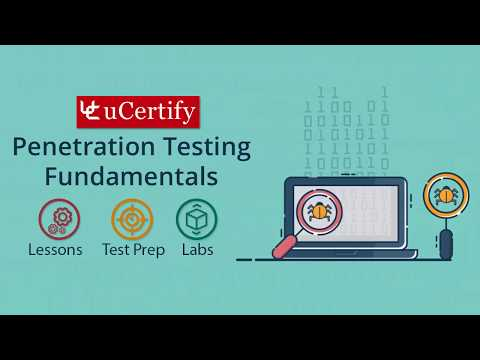 Penetration Testing Fundamentals Pearson uCertify Course
