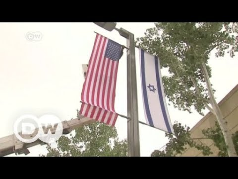 United States moves embassy in Israel to Jerusalem from Tel Aviv | DW News