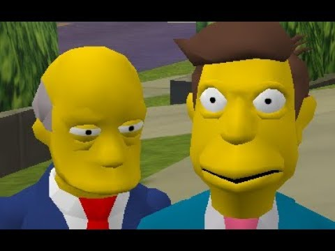 Steamed Hams but It's a Mod for The Simpsons Hit & Run