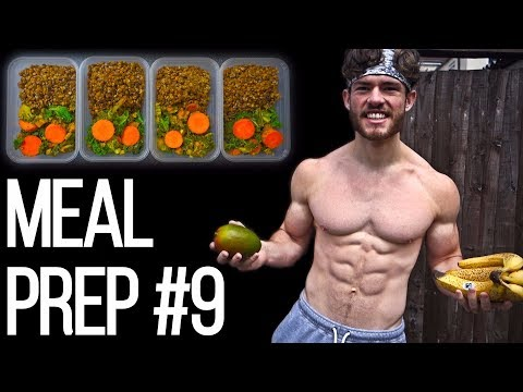 VEGAN BODYBUILDING MEAL PREP ON A BUDGET #9