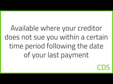 How can a Canadian avoid paying a debt using a  limitation period?