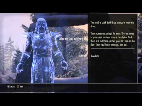 The Elder Scrolls Online console beta Skyshroud Barrow
