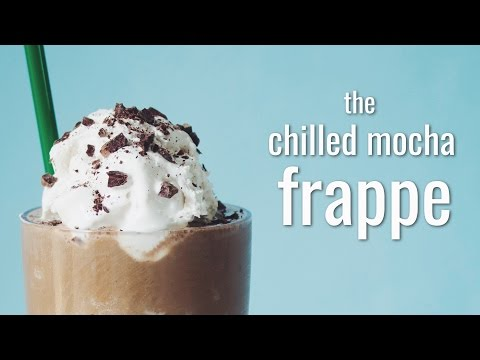 THE CHILLED MOCHA FRAPPE (STARBUCKS COPYCAT) | hot for food