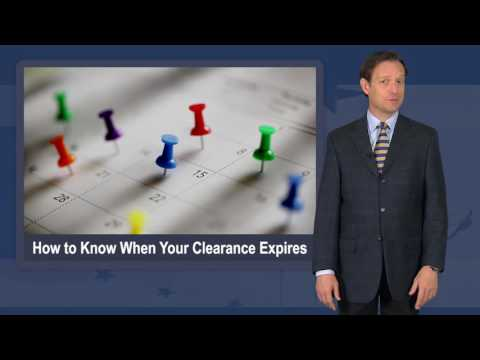 How to Know When Your Security Clearance Expires