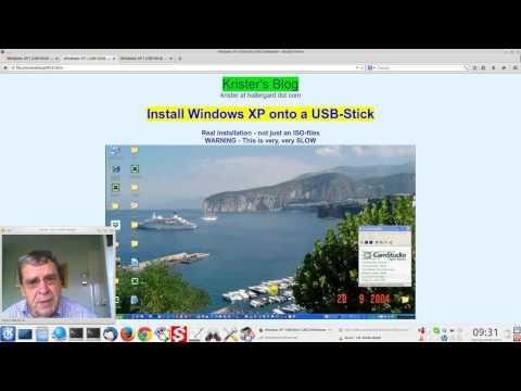 Install Windows XP onto a USB Flash Drive