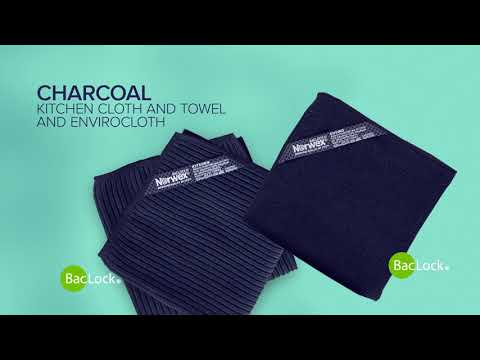Norwex Charcoal Kitchen Set and EnviroCloth