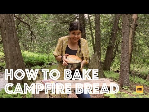 How to Make Campfire Bread