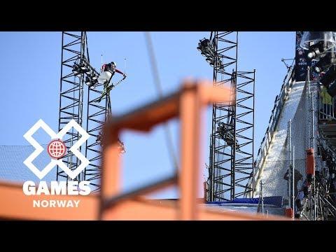 Tiril Sjåstad Christiansen wins Women's Ski Big Air bronze   X Games Norway 2018
