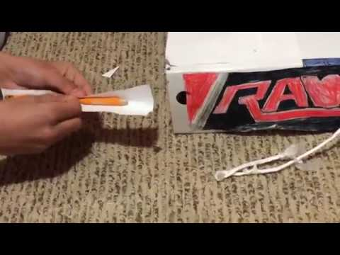 How to make a WWE ring at home for free!