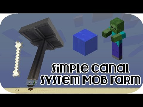 How to make a Mob grinder ||MINECRAFT TUTORIAL||1.12.1 ||very efficient