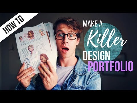 How to Make the BEST Design Portfolio for University