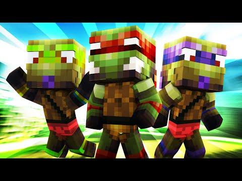 Minecraft Daycare - BABY MUTANT NINJA TURTLES!