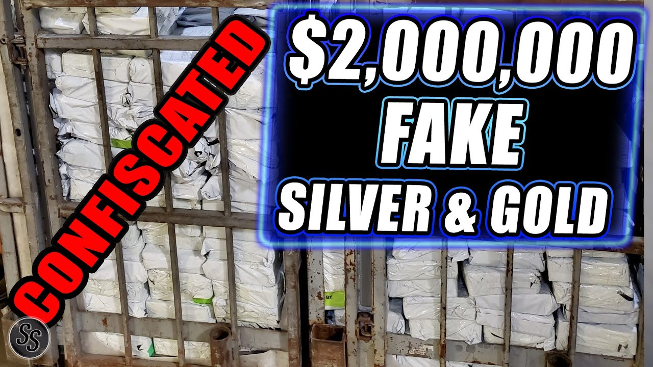 Over 40,000 Fake Silver and Gold Coins Confiscated by Feds!