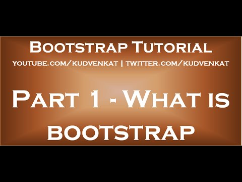 What is bootstrap