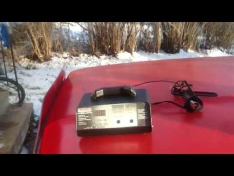 how to charge a car battery and charger review