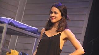 Macarena García en 'La llamada' en el teatro Lara