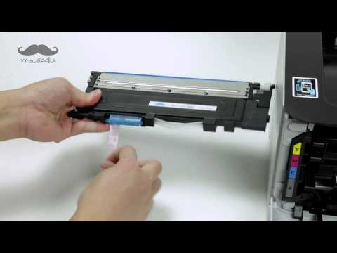 How to Install CLT-406 Compatible Toner with Printer Samsung C410w