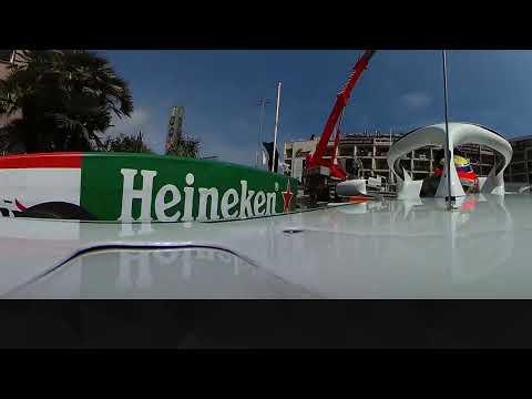 Charles Leclerc's Lap of Monaco (360 Video) | 2018 Monaco Grand Prix