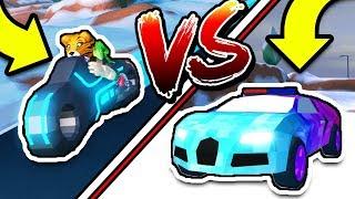 roblox jailbreak volt bike vs veyron Videos - 9tube tv