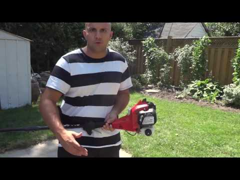 Homelite Curved Shaft Gas String Trimmer Review
