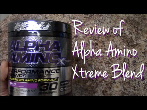 Review: Cellucor's Alpha Amino BCAAs (Xtreme Energy Blend)