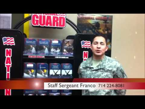 Let the National Guard Pay for Your Education w/ SSG Franco