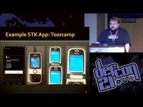 Defcon 21 - The Secret Life of SIM Cards