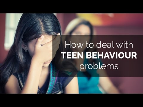 How to deal with teen behaviour problems