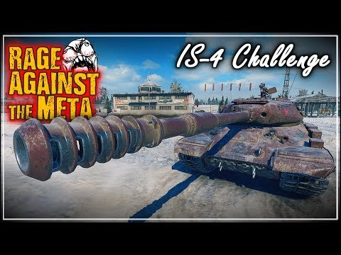 Rage Against the Meta – IS-4 Challenge || World of Tanks