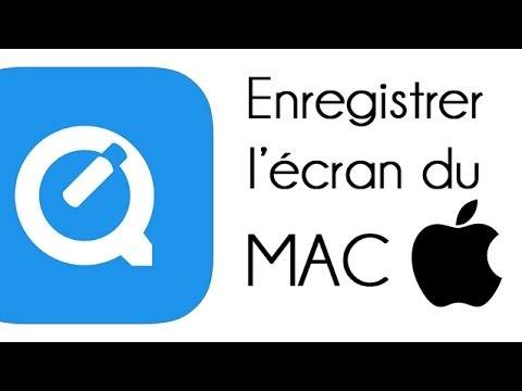 Enregistrer l'écran de son MAC avec QuickTime Player gratuitement